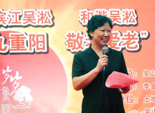 居民的需求工作的追求--记李金居民区党总支书记李雅琴